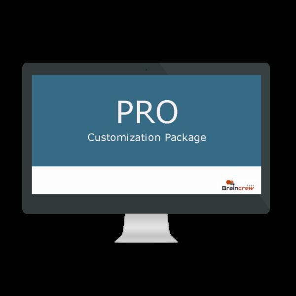 PRO - Customization Package