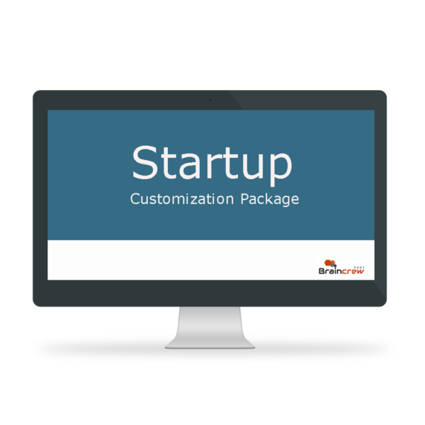 Startup - Customization Package